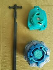 Legends Beyblade Top blue Rubber Performance Tip Piece Spin Track Hasbro set