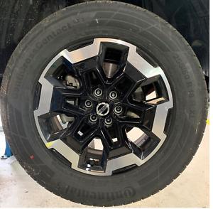 Nissan Navara alloys + tyres d23 NP300