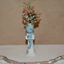 Miniature dollhouse flowers floral 1:12 pot stand