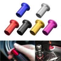 1Pc Car E-Brake Handle Brake Drift Spin Turn Knob Lever Lock Button Universal C