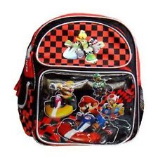Small Backpack - Nintendo -Super Mario Kart Wii Racing Toddler School Bag 044507