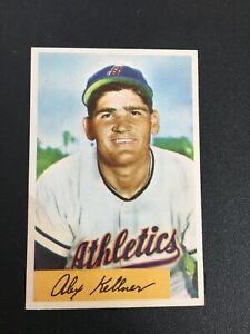 F75390  1954 Bowman #51 Alex Kellner A'S ATHLETICS