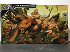 SDCC 2008 Marvel Legends The Savage Land Shanna, Ka-Zar and Zabu Box Set NIB