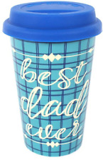 Best Dad Ever Travel Mug Gift Fathers Day Coffee Tea Kitchen Accessory