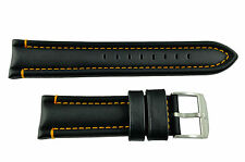 Genuine Luminox-F-35Lightning 9380/9388 24mm Black Watch Band Strap
