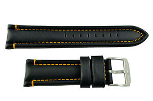 Genuine Luminox-F-35Lightning 9380/9388 24mm Black Watch Band Strap