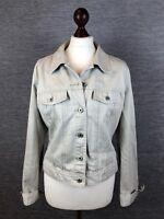 GAP Womens Denim Jacket Size L/G Light Colour