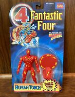 Human Torch Vintage Fantastic 4 Four Action Figure New 1994 Toybiz 90s Marvel