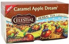 Caramel Apple Dream Tea, Celestial Seasonings, 20 tea bag 1 pack