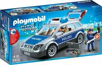 Top!! PLAYMOBIL® City Action 6873 Polizei-Einsatzwagen Polizeiwagen Polizeiauto