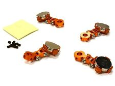 Tuning imán carrocería soporte naranja 1/10 Drift, viajes auto # C 26282 naranja