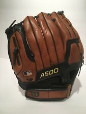 Wilson A500 Baseball Glove Youth Mitt Leather Catcher's Glove Sports Gear