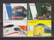 NVPH Nederland Netherlands 2366-2369 sheet MNH 2005 trein train tren Pays Bas