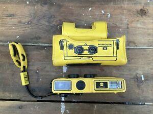 Minolta Weathermatic-A Under water 110 Film Camera