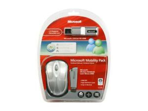 New Microsoft 4PL00001 Mobility Pack MODEL 1082 1054 1051 Webcam +Wireless Mouse