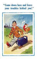 POSTCARD  COMIC   DONALD  McGILL   D  Constance  Series  No  2208