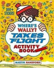 Where's Wally Book: WHERE'S WALLY? TAKES FLIGHT Activity - inc. Stickers - NEW