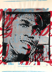 Peter Mars Michael Jordan Pop Art Basketball MJ Sports Icon NBA Chicago Bulls