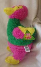 """Sugar Loaf Multi Colored Weird Exotic Bird Plush Stuffed Animal Toy 14"""" NWT"""