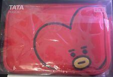 BT21 Tata Cosmetics Makeup Pouch Bag Official Brand New