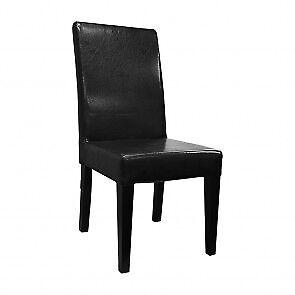 SL-2019 Dining Chair - High Armless - Black