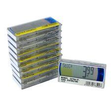 10x elektronische digitale LCD Preisschilder Etiketten Pricer 18310-00 70x36x9mm