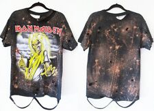 Iron Maiden Killers bleached distressed t shirt S-XL Licensed