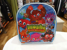 Moshi Monsters Bag NWOT Rucksack Backpack School/Lunch Bag in Blue