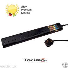 Tacima CS947 6Way rete Condizionatore con Surge Protezione 2M filtro di interferenza