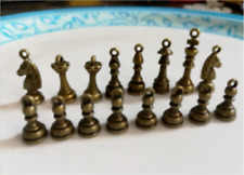 A set   lovely delicate international chess Charm Pendant  new