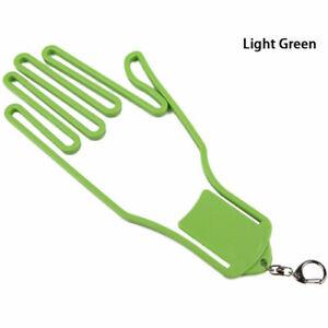 Golf Glove Men 1PC Hand Shaped Holder Rack Dryer Hanger Keeper Gear Plastic R P5