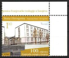 Bosnia 2009 Architecture 100 years of Franciscan theology MNH**