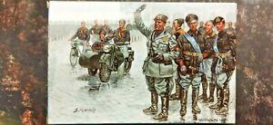 Mussolini Marcia su Roma (ex Atlantic) AP060 - Plastic figures 1/72 Soldatini