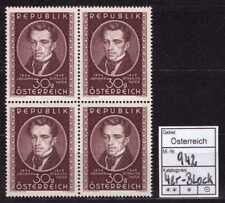 Österreich ** Mi.-Nr. 942 4er-Block - 100. Todestag von Johann Strauß