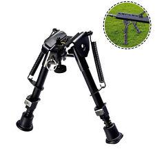 "Hunting Rifle Bipod 6"" to 9"" Adjustable Spring Return Sniper Sling Swivel Mount#"