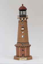 Leuchtturm BORKUM Insel Nordsee Metall Deko Modell Leuchtturmmodell NEU