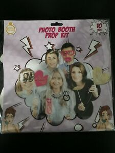 Photo Booth Prop Kit Hen Party / Wedding Photo Booth Party Pack Bride Squad Game