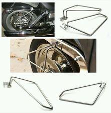 Motorcycle saddlebags Saddle Bags Brackets For Harley Davidson Sportster 1200