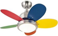 """Westinghouse 7247500 - Roundabout 30"""" Reversible Five-Blade Indoor Ceiling Fan"""