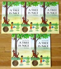 Lot 5 A TREE IS NICE Janice May Udry & Marc Simont guided reading Caldecott