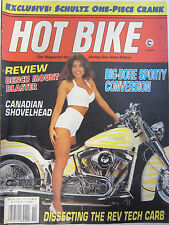 Hot Bike Magazine October 1993 Review Bench Mount Blaster Big-Bore Sporty Conver