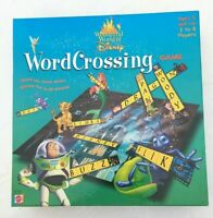 WORD CROSSING Wonderful World Of Disney Children's Board Game by Mattel Complete