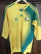 Very Rare Adidas South Africa 3/4 Sleeve 2008 Mens Football Shirt (m)