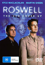 Kyle MacLachlan Martin Sheen ROSWELL - THE UFO COVER UP TRUE STORY DVD