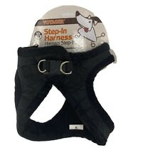 New Voyager Step-in Plush Dog Harness - Soft Plush, Step in Vest Harness. Sz XS