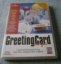 Greeting Card Magic PC CD ROM Cosmi