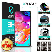 For Samsung Galaxy A90 5G ZUSLAB Full Cover Tempered Glass Screen Protector