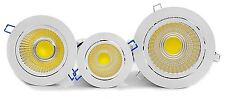 High Power 9W Tillt COB LED Recessed Ceiling Down Lights Cabinet Warm White