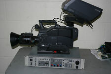 Sony DXC-D30ws CCU-D50 Camera Set  SDI