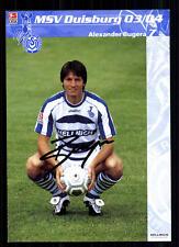 Alexander BUGERA MSV Duisburg 2003-04 Top AK + a 70416